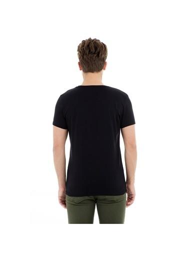 Bad Bear Bad Bear Night T-Shirt Siyah